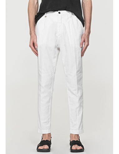 """COMFORTABLE-FIT """"RALPH"""" TROUSERS IN A..."""